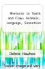 cover of Rhetoric in Tooth and Claw