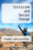 cover of Criticism and Social Change