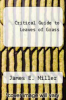 cover of Critical Guide to Leaves of Grass