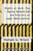 cover of Rights at Work: Pay Equity Reform and the Politics of Legal Mobilization