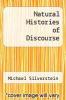 cover of Natural Histories of Discourse