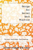 cover of Design for Social Work Practice