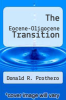 cover of The Eocene-Oligocene Transition