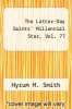 cover of The Latter-Day Saints` Millennial Star, Vol. 77