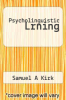 cover of Psycholinguistic Lrning