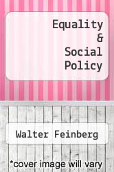 Cover of Equality & Social Policy EDITIONDESC (ISBN 978-0252002151)