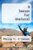 cover of A Season For Unatural