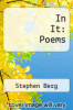 cover of In It: Poems