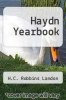 cover of Haydn Yearbook