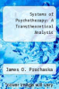 cover of Systems of Psychotherapy: A Transtheoretical Analysis