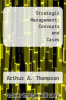 cover of Strategic Management: Concepts and Cases (3rd edition)