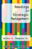 cover of Readings in Strategic Management (2nd edition)