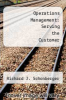 cover of Operations Management: Serving the Customer (3rd edition)