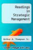 cover of Readings in Strategic Management (4th edition)