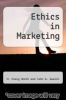 cover of Ethics in Marketing