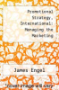 cover of Promotional Strategy, International: Managing the Marketing Communications Process (7th edition)