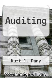 Cover of Auditing 94 (ISBN 978-0256116373)
