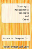 cover of Strategic Management: Concepts and Cases (7th edition)