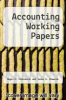cover of Accounting Working Papers (6th edition)