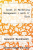 "Cases in Marketing Management / With 5"" Disk by Kenneth Bernhardt - ISBN 9780256144789"