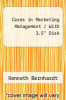 "Cases in Marketing Management / With 3.5"" Disk by Kenneth Bernhardt - ISBN 9780256157246"