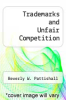 cover of Trademarks and Unfair Competition