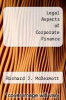 cover of Legal Aspects of Corporate Finance (2nd edition)