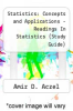cover of Statistics : Concepts and Applications - Readings In Statistics (Study Guide)