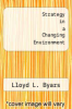 cover of Strategy in a Changing Environment