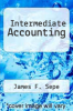 cover of Intermediate Accounting (1st edition)