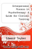 cover of Interpersonal Process in Psychotherapy: A Guide for Clinical Training
