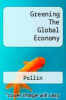 cover of Greening the Global Economy