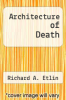 cover of Architecture of Death