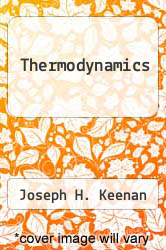 Cover of Thermodynamics EDITIONDESC (ISBN 978-0262110389)