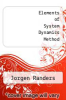 cover of Elements of System Dynamics Method