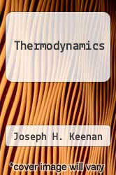 Cover of Thermodynamics EDITIONDESC (ISBN 978-0262610087)