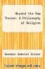cover of Beyond the New Theism: A Philosophy of Religion