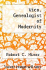 cover of Vico, Genealogist of Modernity