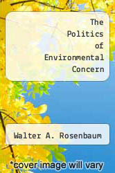 Cover of The Politics of Environmental Concern 2 (ISBN 978-0275648206)