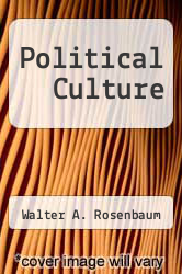 Cover of Political Culture EDITIONDESC (ISBN 978-0275852009)