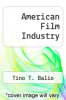 cover of American Film Industry (2nd edition)