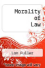 cover of Morality of Law