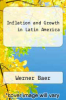 cover of Inflation and Growth in Latin America