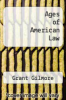 cover of Ages of American Law