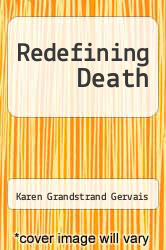 Cover of Redefining Death EDITIONDESC (ISBN 978-0300041972)