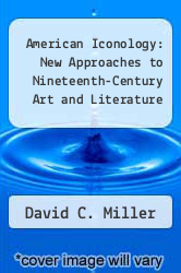 Cover of American Iconology: New Approaches to Nineteenth-Century Art and Literature EDITIONDESC (ISBN 978-0300054781)