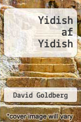 Cover of Yidish af Yidish EDITIONDESC (ISBN 978-0300189469)