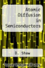 cover of Atomic Diffusion in Semiconductors