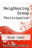 cover of Neighboring Group Participation