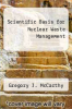 cover of Scientific Basis for Nuclear Waste Management